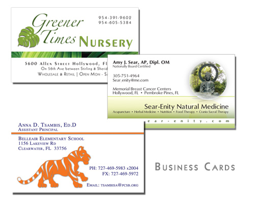 Graphic Design - Business Cards